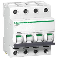 9 sản phẩm aptomat MCB 4 pha Acti9 loại mới Schneider đa dạng dòng điện