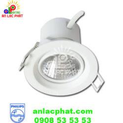 Đèn led âm trần chiếu điểm Philips 3w 59751 Kyanite