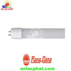 Bóng Đèn LED Tuýp T8 N01 60 10W (SS) Rạng Đông vỏ nhựa