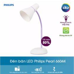 Đèn bàn Led 66044 Pear Philips màu tím 3.2W