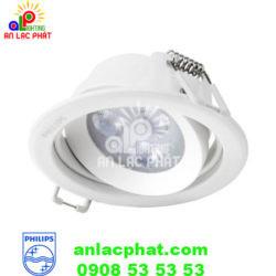 Đèn chiếu điểm Spotlight 59721 White 3W âm trần Philips