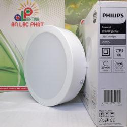 Đèn Led âm trần gắn nổi Philips 11w DN027C tuổi thọ 20000 giờ