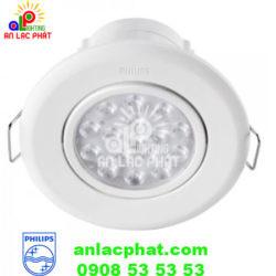 Đèn LED Chiếu Điểm 47031 40K 3W SPOT WHITE Recessed Philips