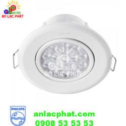 Đèn LED Chiếu Điểm 47032 65K 3W SPOT WHITE Recessed Philips
