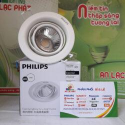 Đèn Led Chiếu Điểm 59776 Pomeron 7W Philips màu trắng lỗ cắt 70