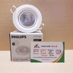 Đèn led downlight chiếu điểm 59752 KYANITE lỗ cắt 70 5W Philips