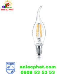 Bóng đèn led Deco Classic 2w BA35 E14 Philips ánh sáng vàng