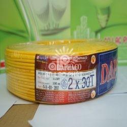 Dây điện đôi Daphaco sợi đồng cấp 5 loại 2x30T