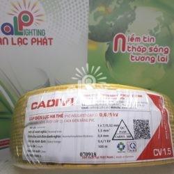 Dây Điện Đơn Cadivi CV 1.5 Ruột Đồng