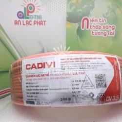 Dây Điện Đơn Cadivi CV 3.5 mm2 Ruột Đồng, Vỏ PVC