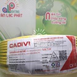 Dây Điện Đơn Cadivi CV 4.0 mm2 CU/PVC