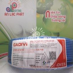 Dây Điện Đơn Cadivi CV2.5 mm2 Vỏ PVC