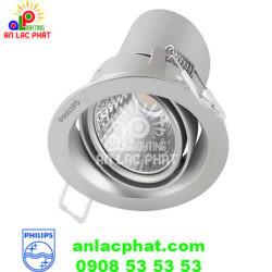 Đèn chiếu điểm Led 59774 Pomeron 3w Philips màu Bạc