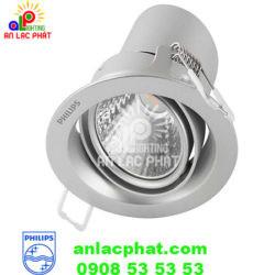 Đèn chiếu điểm Philips 59775 Pomeron 5w màu Bạc
