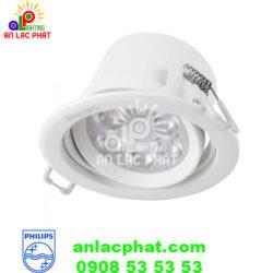 Đèn chiếu điểm Spotlight 59724 7w Philips dùng bóng Led