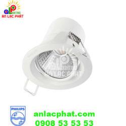Đèn chiếu điểm Spotlight 59722 5w Philips dùng bóng Led
