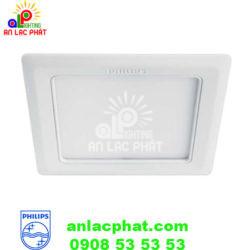 Đèn downlight dạng vuông 14w Marcasite 59528 Philips