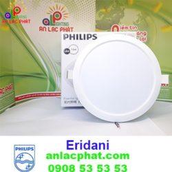 Đèn Downlight Led Philips 59262 Eridani 125 7.5w có 3 loại màu ánh sáng