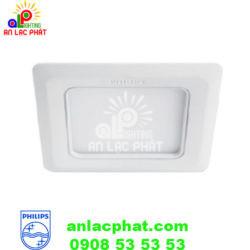 Đèn downlight Marcasite 59526 100 SQ 9W Philips dạng vuông