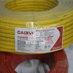 Dây Điện Đôi Cadivi 2×50 mm2, Tiết Diện Lớn, Dẫn Điện Tốt