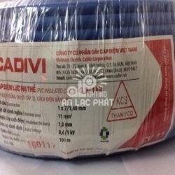 Dây Điện Đơn Cadivi CV 11 mm2 Giá Thành Hợp Lý