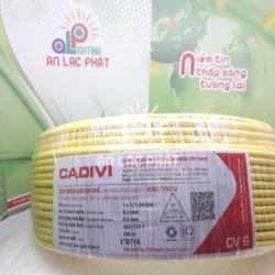 Dây Điện Đơn Cadivi CV 6.0 mm2 Chất Lượng Mang Đến Niềm Tin