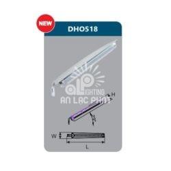 Đèn đường Led cao cấp Duhal DHO518 18w