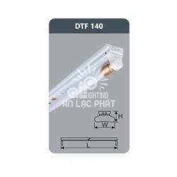 Đèn huỳnh quang Duhal siêu mỏng 18w DTF140 loại bóng T8