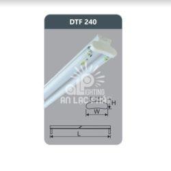 Đèn huỳnh quang kiểu Batten Duhal siêu mỏng 18w DTF240 loại bóng T8