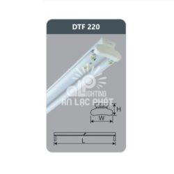 Đèn huỳnh quang siêu mỏng 9w Duhal DTF220 loại bóng T8