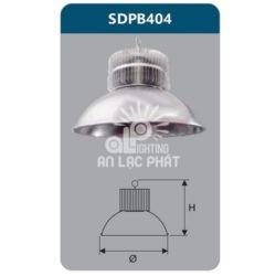 Đèn led chiếu sáng nhà xưởng 150w Duhal SDPB404