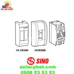 Aptomat Sino cầu dao an toàn BS68N và hộp chứa gắn nổi