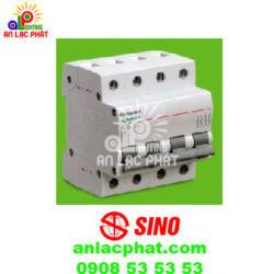 Aptomat Sino MCB – 4P PS45N 4.5kA Type C chất lượng cao