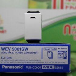 Công tắc 1 chiều WEV5001SW cắm nhanh Panasonic tuổi thọ lâu dài
