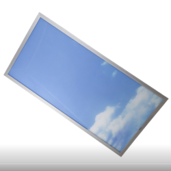 Đèn Led Panel Rạng Đông 600×1200 75W in mây trời