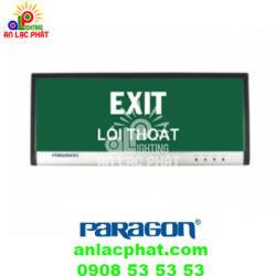 Đèn exit Paragon PEXA13SW gắn tường