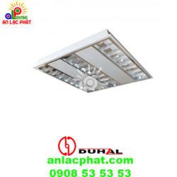 Máng đèn phản quang âm trần Duhal TDA228 công suất 2x28w