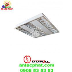 Máng đèn phản quang âm trần Duhal TDA328 công suất 3x28w