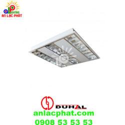 Máng đèn phản quang âm trần Duhal TDA428 công suất 4x28w