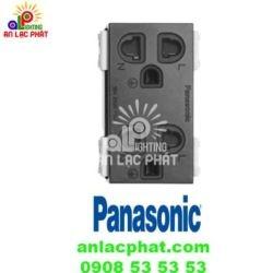 Ổ cắm đôi có màn che WEG15829B – G Panasonic màu sắc tinh tế