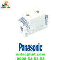 Ổ cắm đơn WN10907KW Panasonic dùng cho phích cắm tròn