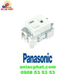 Ổ cắm đơn WN11017W Panasonic ổ cắm đơn có dây nối đất phích dẹp