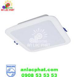 Đèn Downlight DN027B LED6 L100 SQ 4W Philips dạng vuông