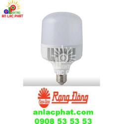 Đèn Led Bulb trụ TR100/40W (SS) Rạng Đông Chip Led công nghệ cao
