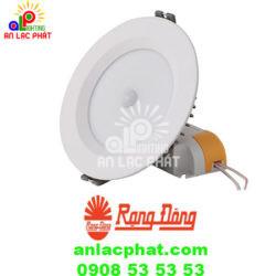 Đèn Led downlight cảm biến D AT04L 110/9W PIR Rạng Đông