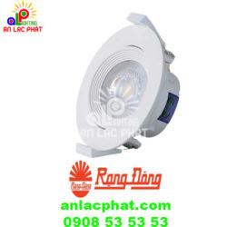 Đèn Led downlight xoay góc D AT02L XG 76/6.5W.DA Rạng Đông