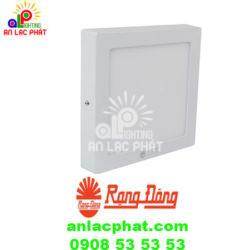 Đèn ốp trần cảm biến Rada D LN08L 23×23/18W RAD Rạng Đông tinh tế