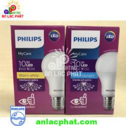 Đèn Led bulb MyCare Philips 10W E27 1CT/12 APR an toàn