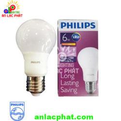 Đèn Led bulb MyCare Philips 6W E27 1CT/12 APR tiết kiệm và an toàn