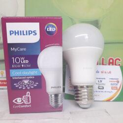 Đèn Led bulb MyCare Philips 10W E27 an toàn cho mắt